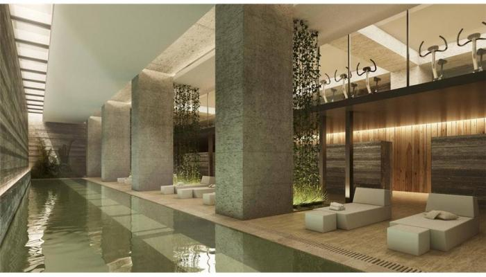 Alquiler directo condominio a estrenar con amenities for Piso relax santiago